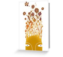 Idea Flowers Greeting Card