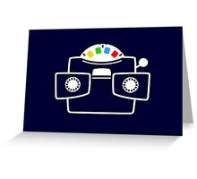 Viewmaster Colours Greeting Card