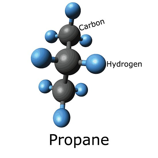 Propane Molecule (and Propane accessories?)