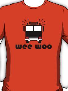 Firetruck Wee Woo T-Shirt