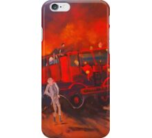 The Vintage Fire Truck and the wonderful band of volunteers iPhone Case/Skin