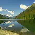 BC Mountain Lake by Allen Lucas