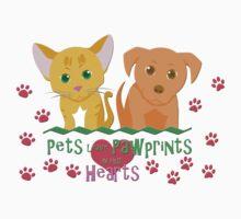 Pets Leave Pawprints Kids Clothes
