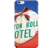 Route 66 - Cotton Boll Motel iPhone Case/Skin