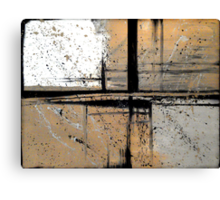 Outside The Lines Canvas Print