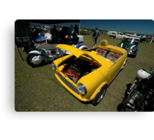 Little Yellow Taxi, Evans Head Fly-In, NSW Canvas Print