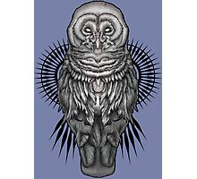 Geo Owl Photographic Print