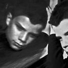 "Boy On A Train by Belinda ""BillyLee"" NYE (Printmaker)"