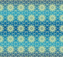 Lace on Blue by Lena127