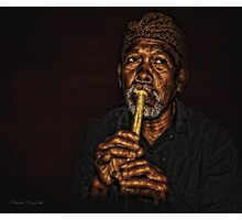 The Balinese Musician Photographic Print