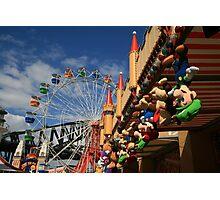 Colours of Luna Park, Sydney Photographic Print