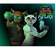 Robot Cats from the FUTURE Photographic Print