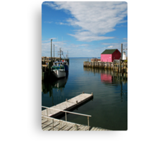 Clouds Point The Way Canvas Print