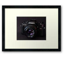Classic 35mm Film Camera Framed Print