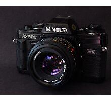 Classic 35mm Film Camera Photographic Print