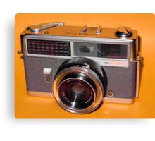 Vintage Camera 1960s  Canvas Print