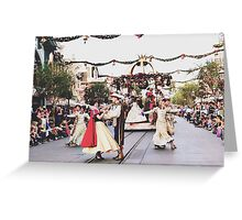 A Christmas Fantasy Parade  Greeting Card