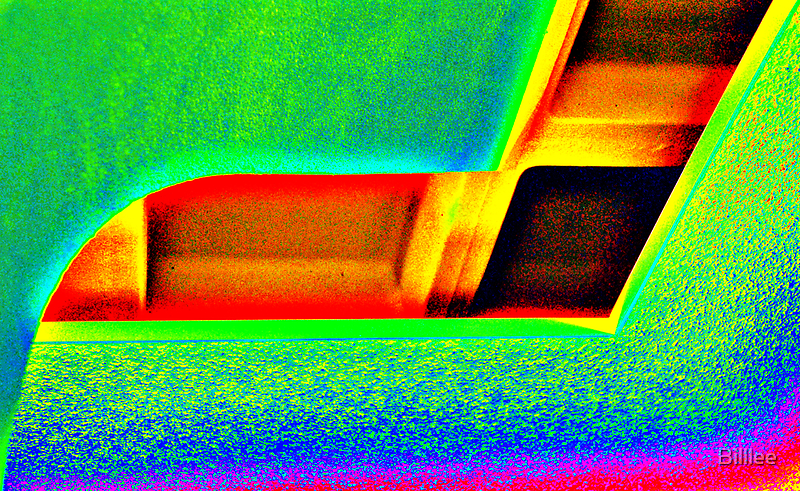 Looking up...an abstraction. by Billlee