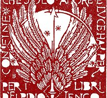 Ex Libris Wings by Zehda