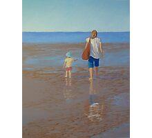 """My Girls Summer 2011"" Pastel Painting Photographic Print"