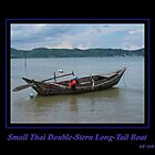 Small Thai Double Stern Longtail Boat by Keith Richardson