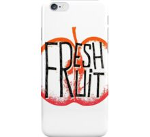 Apple fresh fruit illustration iPhone Case/Skin