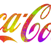 Coca Cola Pop Sticker