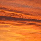 Shades of Orange over Longford by wiccanrider
