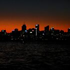 North Sydney (Gotham city?) by ojoe