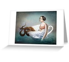 Afloat Greeting Card