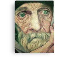 Old Man Bob. Canvas Print