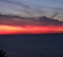 Lake Erie Sunset......5-16=-08 by Johnnie R
