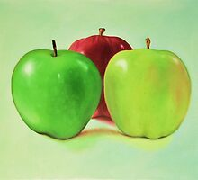 Granny Smith and Friends by julietsmithart