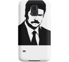 Ron Swanson Parks n Rec Samsung Galaxy Case/Skin