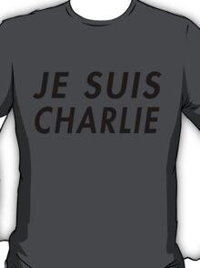 Je Suis Charlie (Alternate design) T-Shirt