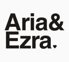 Aria & Ezra - black text by PirateShip