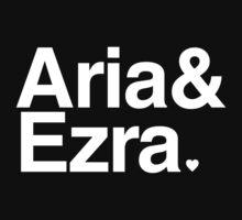 Aria & Ezra - white text by PirateShip