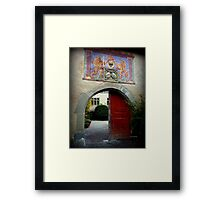 Past Times Framed Print
