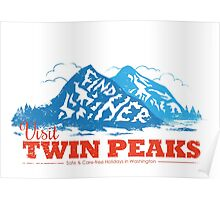 Twin Peaks Visitor Poster