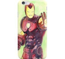 Old School Iron Man iPhone Case/Skin