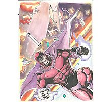 Magneto Master of Magnetism Photographic Print