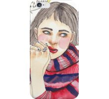 FALALALAUGH iPhone Case/Skin