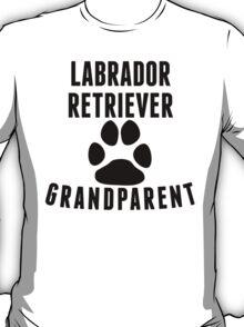 Labrador Retriever Grandparent T-Shirt