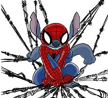 The Amazing Spider-Stitch by RhinoChild