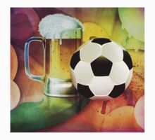 Beer Glass and Soccer Ball Kids Clothes