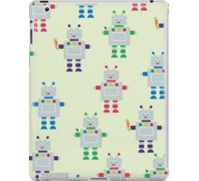 ROBOT PATTERN iPad Case/Skin