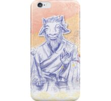 Year of the Goat iPhone Case/Skin