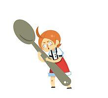 Charlie Spoon by geethis