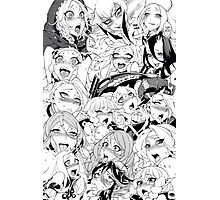 Ahegao Pervert (manga) Photographic Print