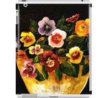 Flowers...Pansies iPad Case/Skin
